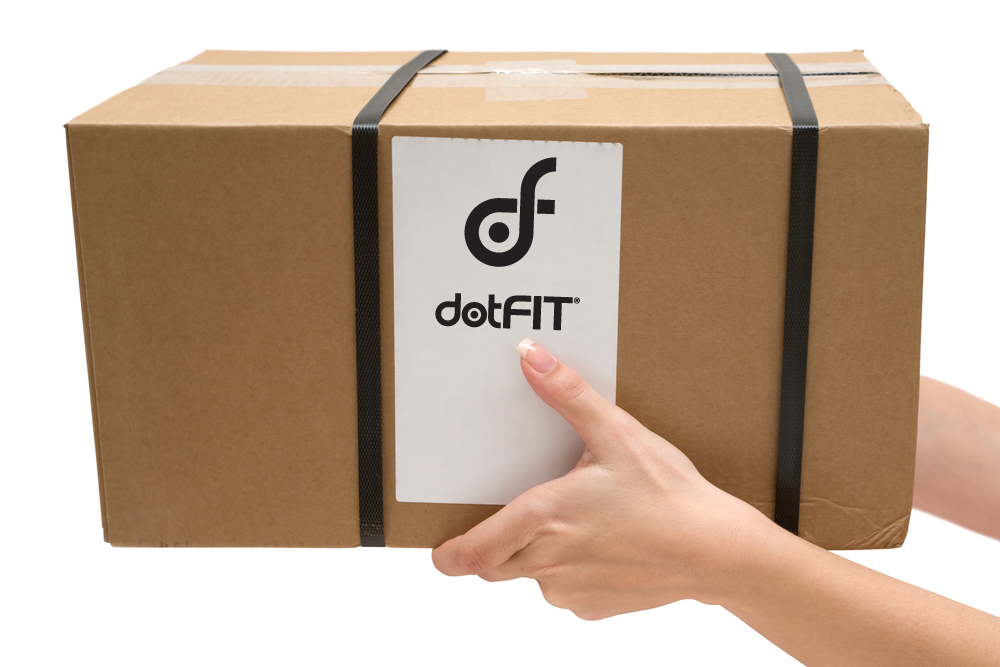 free ground shipping from dotFIT